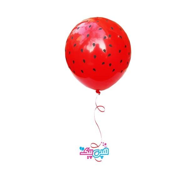 helium balloon watermelon-
