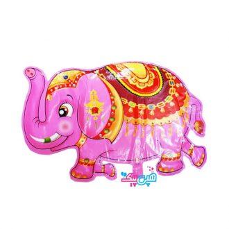 بادکنک فیل صورتی