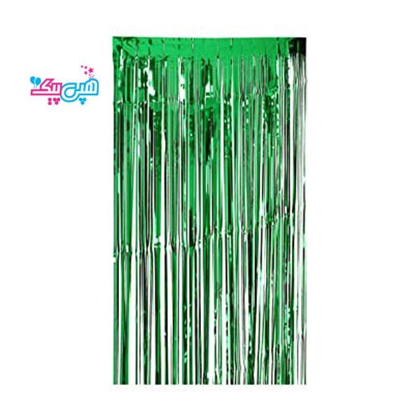 Curtains green roban-