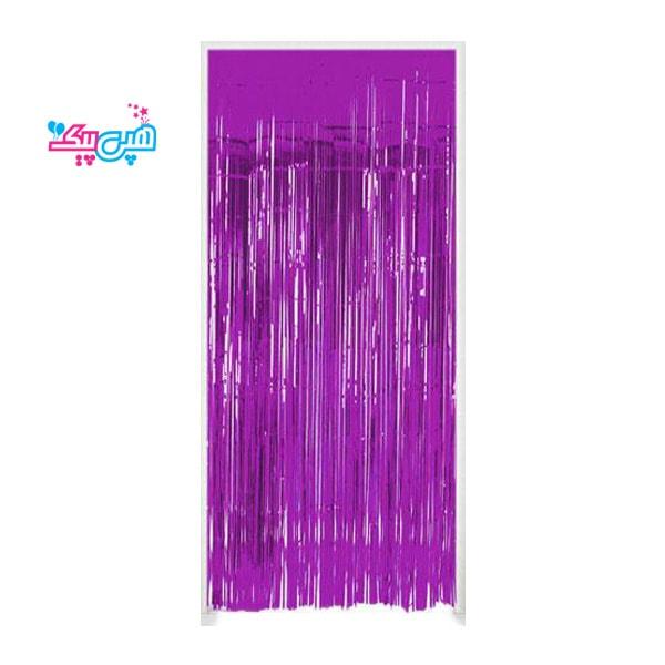 Curtains purple roban-