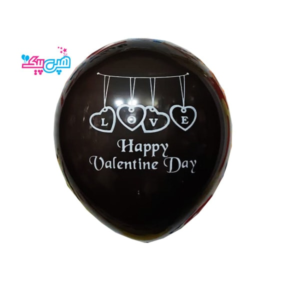 happy valentine black latex-