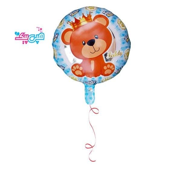 heium teddy boy foil balloon-