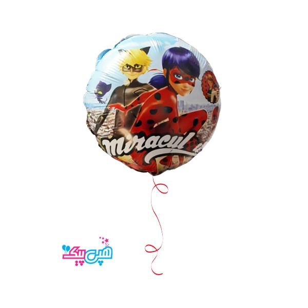 Miraculous helium foil balloon-