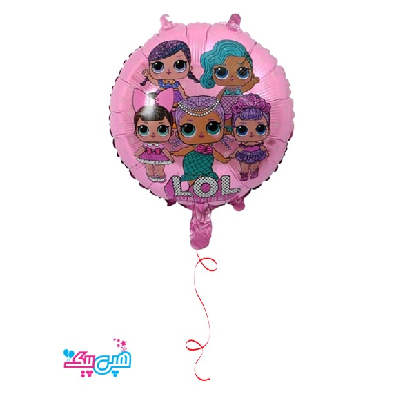 lol round helium foil balloon-