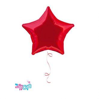 بادکنک هلیومی ستاره قرمز