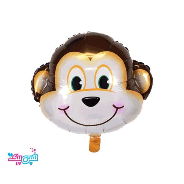monkey head foil balloon-