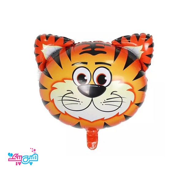 tiger head foil balloon-