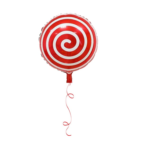 red candy helium foil balloon-