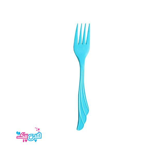 blue fork plastioc
