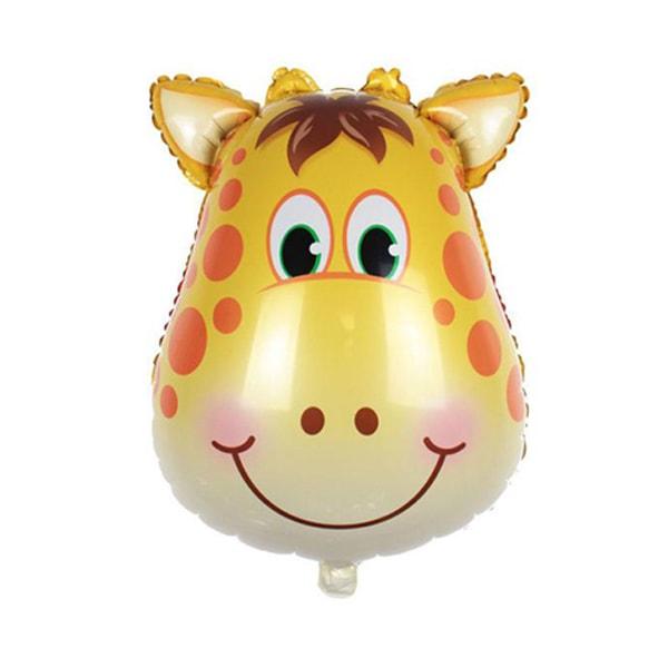 Giraffe head foil ballon-