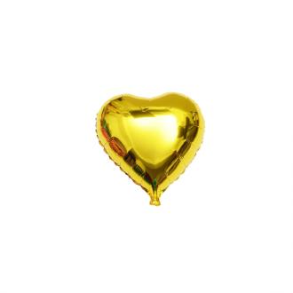 بادکنک قلب طلایی کوچک