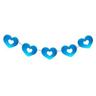 ریسه قلبی آبی