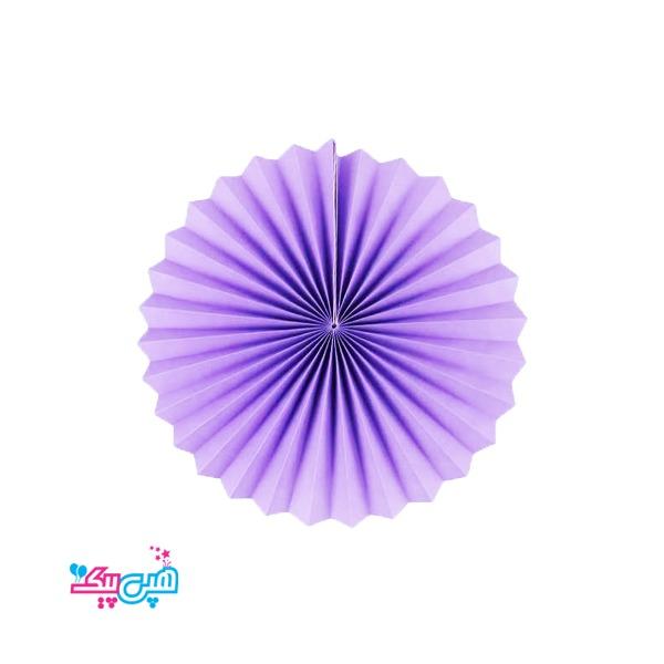 paper fans Purple