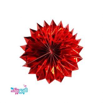 پیپر فنس قرمز براق