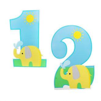 استند عدد فیل زرد