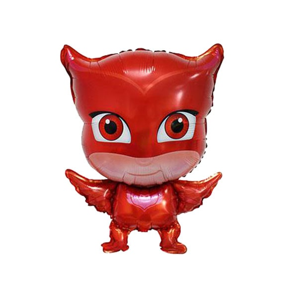 red pjmask foil balloon-