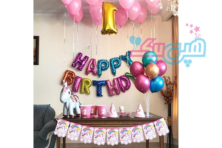 تم تولد یونیکورن در فروشگاه هپی پیک-