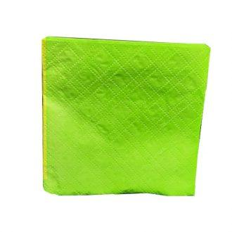 دستمال سبز روشن