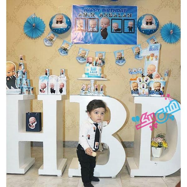 عکس مشتری تم تولد بچه رئیس-