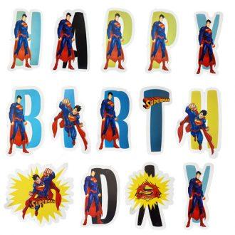 آویز شکل دار سوپرمن
